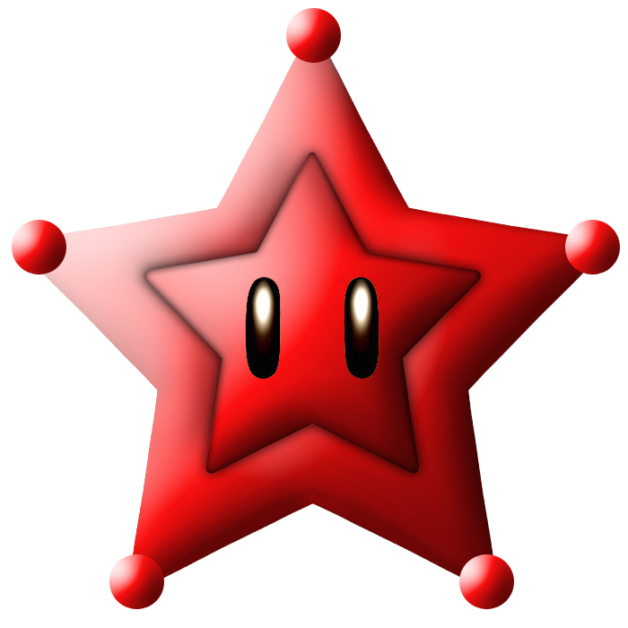 red mario galaxy stars - photo #1