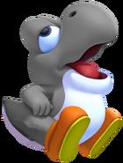 Gray Baby Yoshi