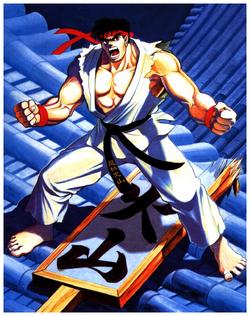 StreetFighterII RyuCharacterPoster