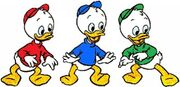 DP Huey Dewey and Louie