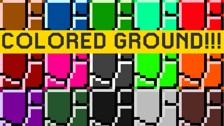 MarioMaker1.8ColoredGround