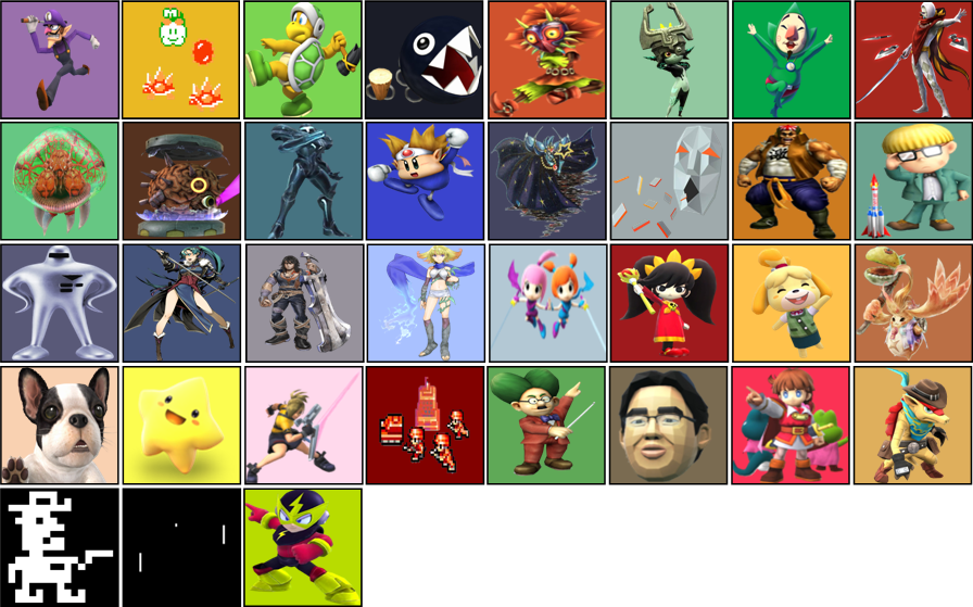 Returning Assist Trophies Smash 5