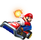 MK3DS Mario Great Fireball