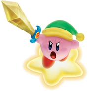 Sword Kirby Warrior