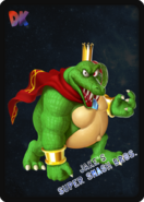 King K. Rool - JSSB amiibo card