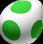 Yoshi Egg Tilted Artwork