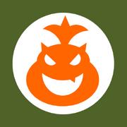 Bowser jr kart flag by rafaelmartins-d4qeyy7