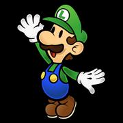 Luigi paper mario kart