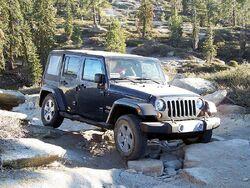 2008 Wrangler JK Unlimited Sahara