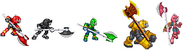 Axem Rangers X sprites