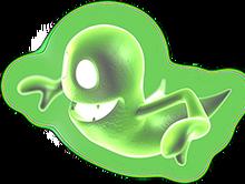 Greenie transparent