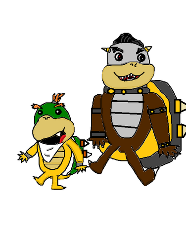 File:Baby Bowser and Morton.png