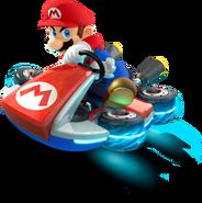 Mario Artwork (alt 2) - Mario Kart 8