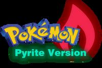 Pokemon Pyrite Version Logo