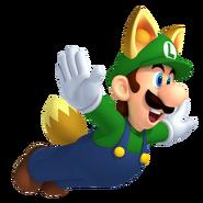 Raccoon Luigi NSMBW