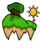 World 1 Floating Hilltops Icon