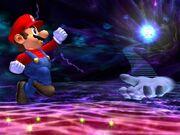 Mario Melee brawl