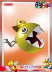 SMW3D KingChompTradingCard