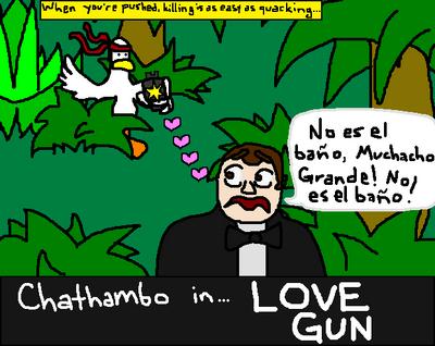 Chathambo in Love Gun