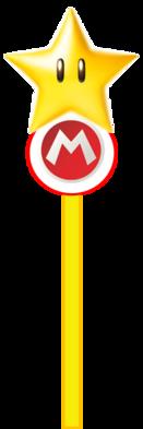 Mario Star Staff