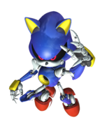 Metal Sonic Rivals 2