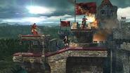 SSB4-U Castle Siege