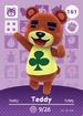 Ac amiibo card s2 teddy