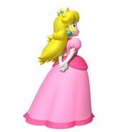 Princess Peach Looking Back