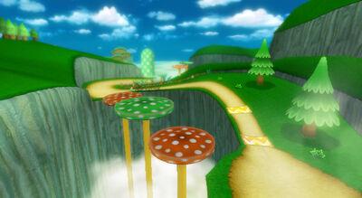 Mushroom Gorge MKWii