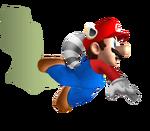 Skunk Mario by MGC