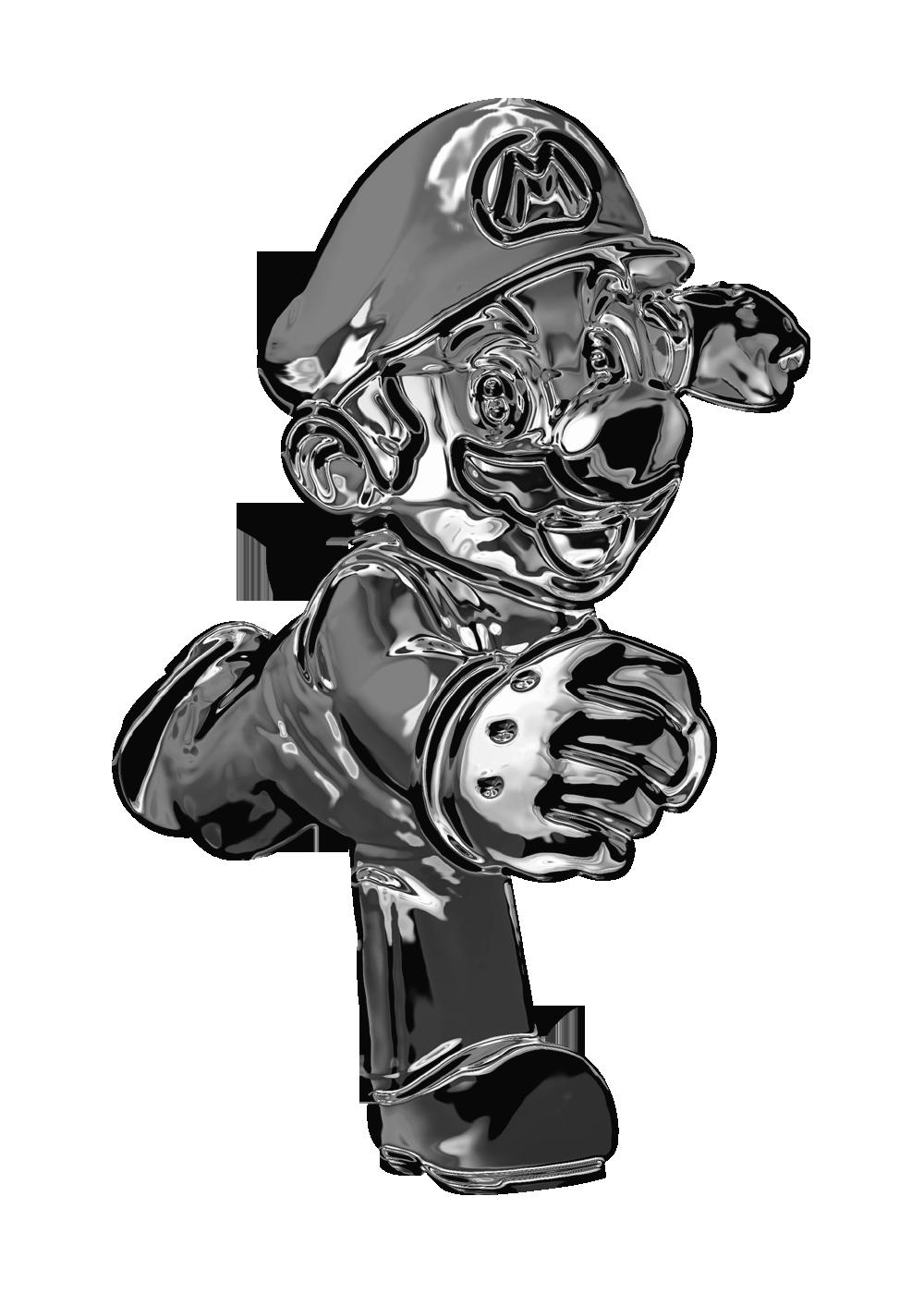 Metal Mario Power Up Fantendo Nintendo Fanon Wiki