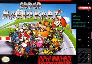 SuperMarioKart Boxart