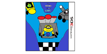 The Minion Show Kart Box Art