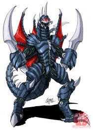 Godzilla Neo GIGAN by KaijuSamurai
