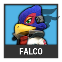 ACL -- Super Smash Bros. Switch character box - Falco