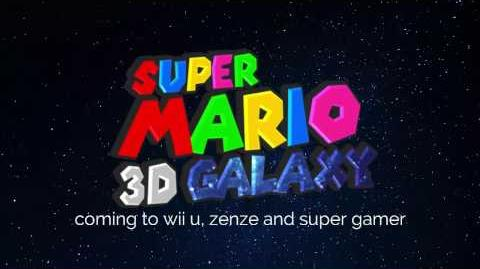 Super Mario 3D Galaxy It's good to see you again