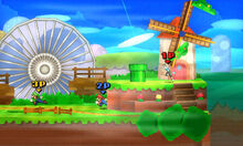 SSB3DS Hither Thither Hill