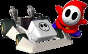 Shy Guy Artwork - Mario Kart DS