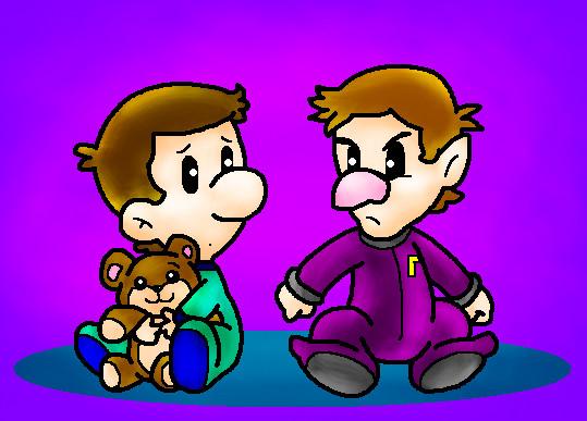 File:Baby luigi and baby waluigi by nintendrawer.jpg