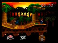 Congo Jungle SSB - Mario DK Fight