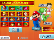 Character Select MDR