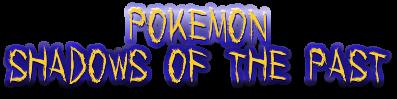 Pokemon Shadows Past logo WORDS