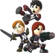 Fighting Mii Team SSB4