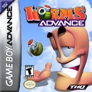 Worms Advance GBA box