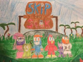 Skip and Sqak (Series Logo)