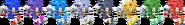 SSBRiot Sonic Color Palettes
