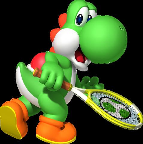 File:Yoshi - Mario Tennis Open.png