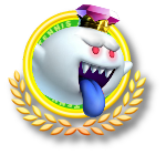 King Boo Tennis Icon