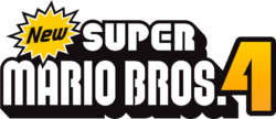 New Super Mario Bros. 4 Logo