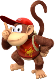 336px-Diddy Kong Artwork - Donkey Kong Country Tropical Freeze